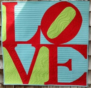 Inspired by the Robert Indiana sculpture, my version of LOVE